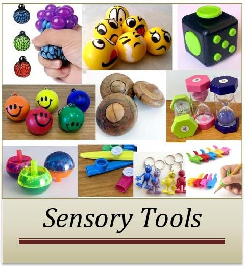 Sensory issues. How and why to use sensory tools.